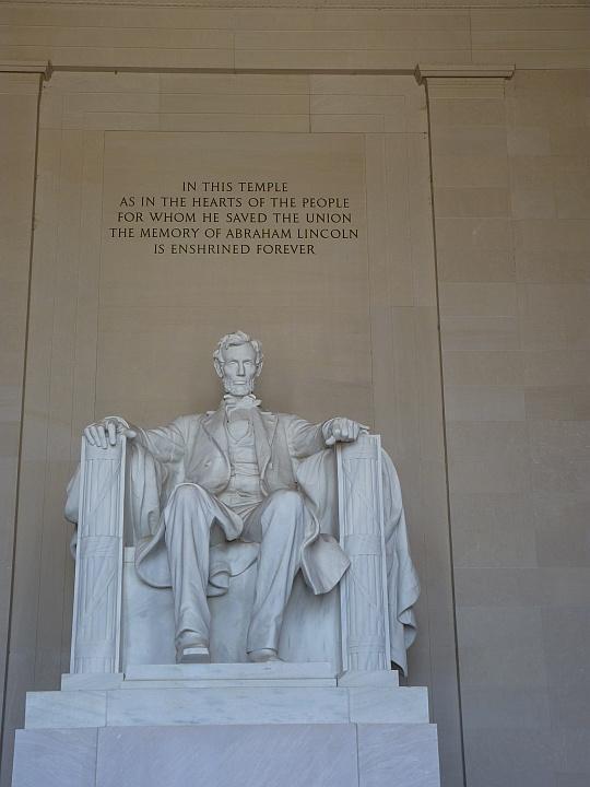Lincoln Monument  innen