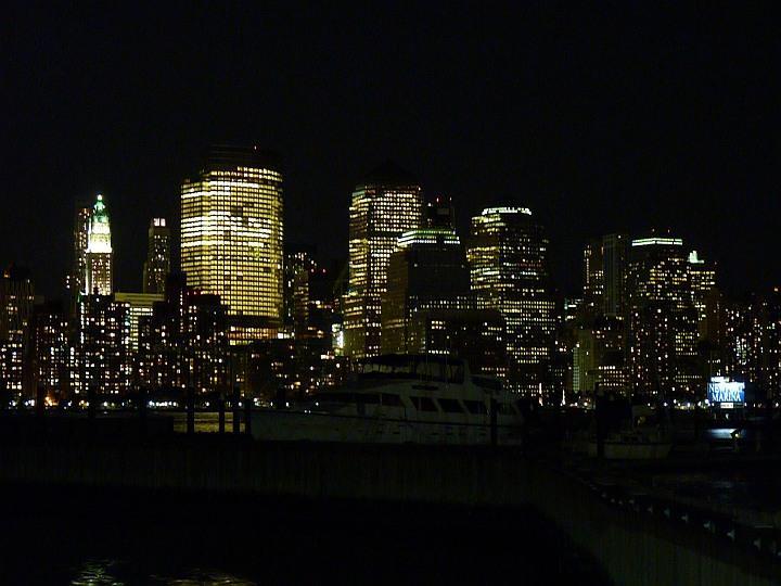 Skyline-Nacht