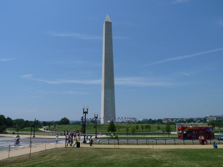 Washington Monument an der Mall