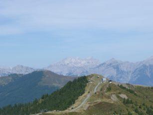 Berg Panorama Schmittenhöhe Zell am See