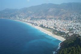 Kleopatra Strand in Alanya