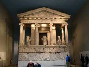 Tempel im Britischen Museum