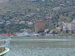 Alanya roter Turm