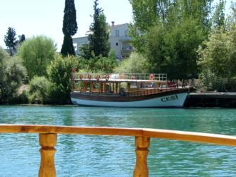 Manavgat Türkei Flußfahrt