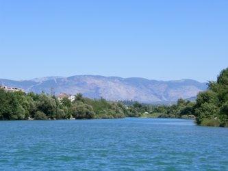 Manavgat Fluss