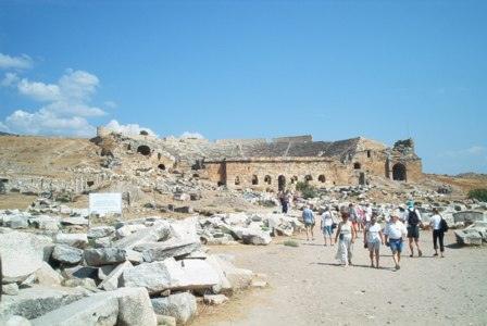 Pamukkale Antikes Theater