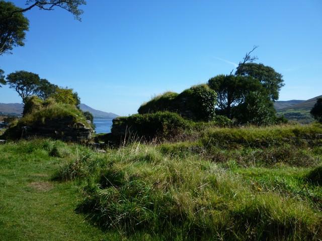 Reste des Dunboy Castle