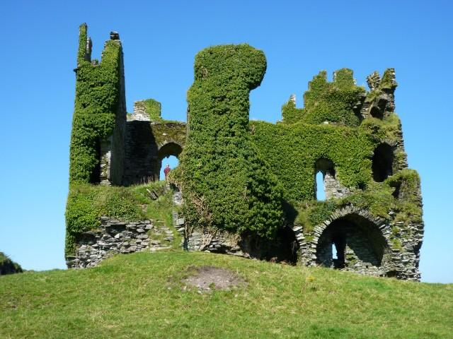 Bellycarberry Castle bei Cahersiveen