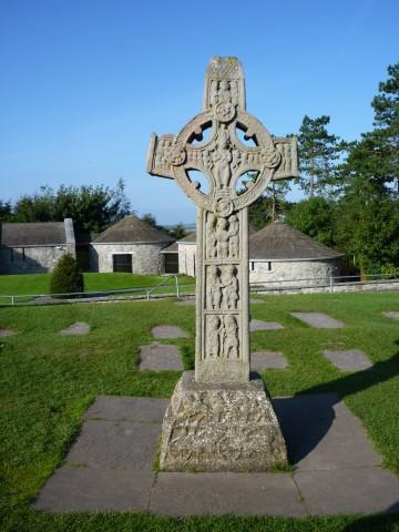 Clonmacnoise Kreuz der Evangelien
