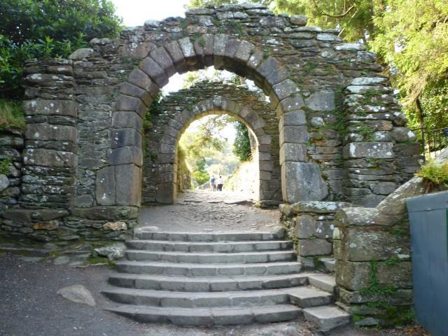 Glendalough Eingang