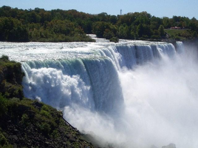 American Falls Abbruchkante