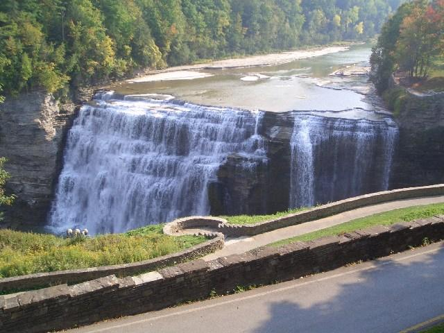 Letchworth Park Middle Falls