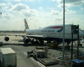 Britisch Airways Flugzeug