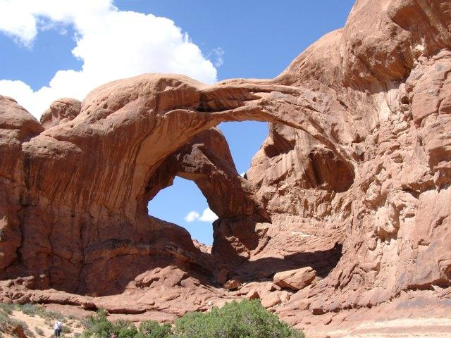 Double Arch im Arches NP