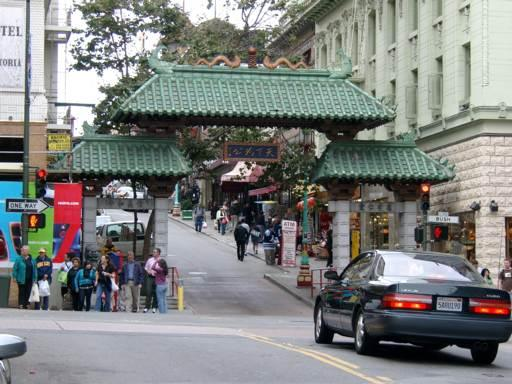 Gateway to Chinatown San Francisco