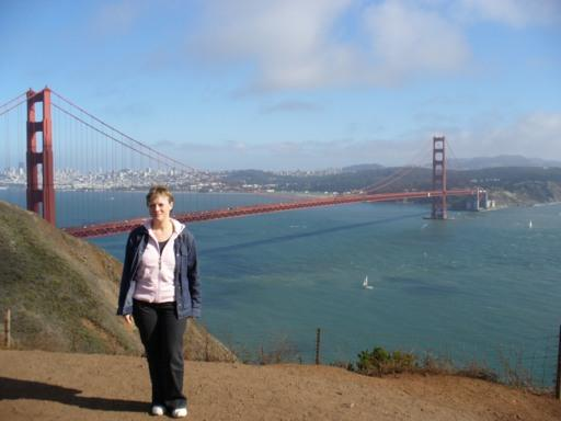 Golden Gate Bridge mit Rossi