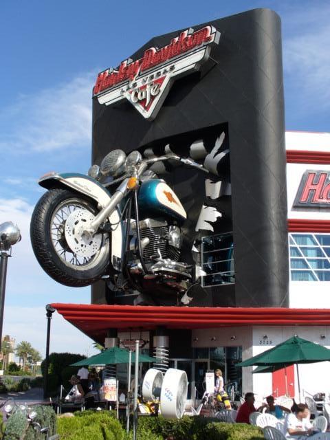 Harley Davidson Cafe in Las Vegas