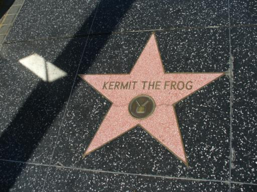 Walk of Fame Kermit the Frog