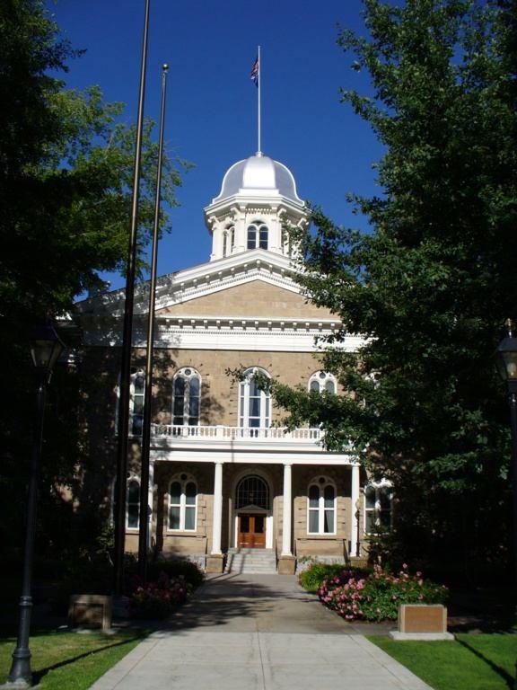 Capitol in Carson City