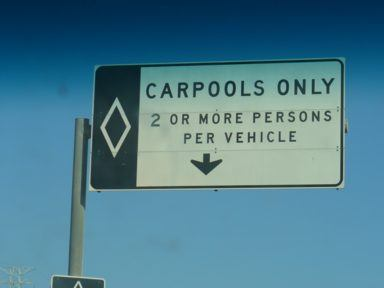 Carpool in Los Angeles