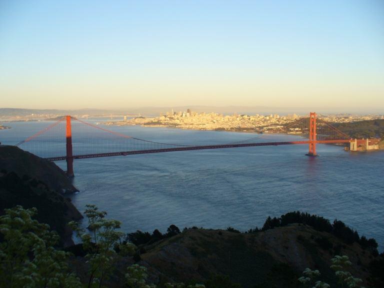 Golden Gate Sonnenuntergang