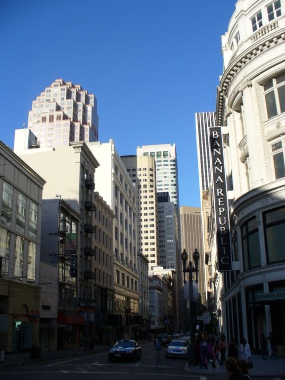 Hochhaeuser in San Francisco