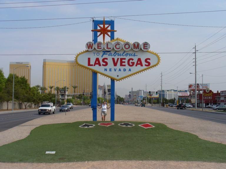 Las Vegas Welcome Schild
