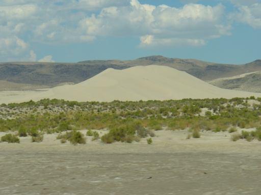 Sandkasten vor Fallon
