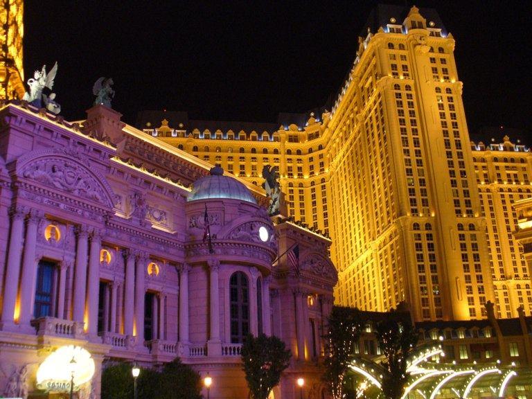 Venician Las Vegas bei Nacht