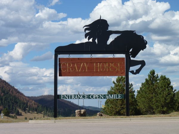 Crazy Horse Schild