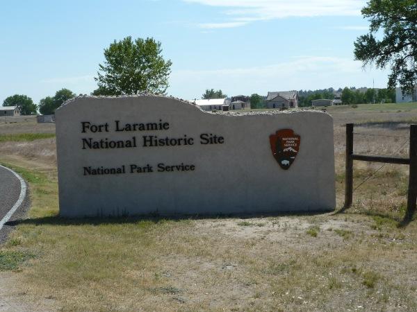 Fort Laramie Schild