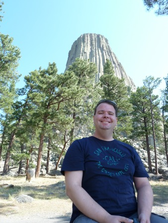Devils  Tower mit Andree