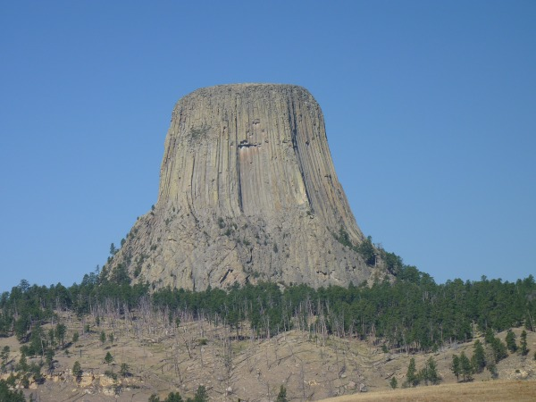 Devils Tower aus der ferne
