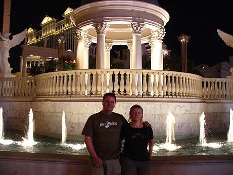 Andree und Rossi in Las Vegas