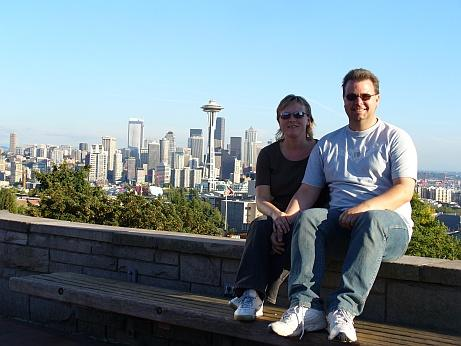 Andree und Rossi in Seattle
