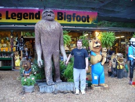 Bigfoot mit Andree
