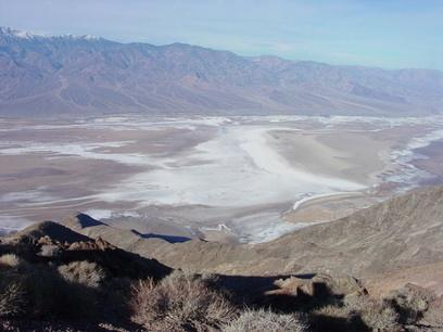Dantes View Death Valley