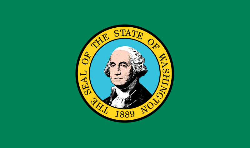 Flagge-Washington