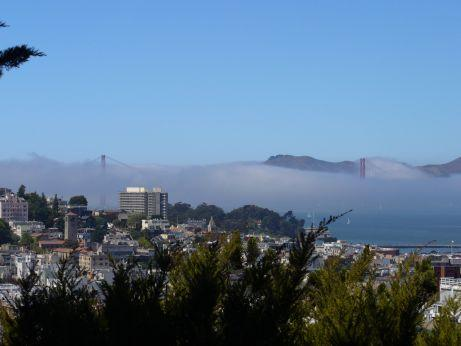 Golden Gate Bridge im Nebel