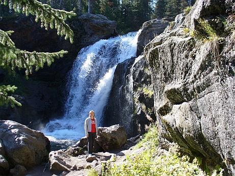 Grand Teton Wasserfall