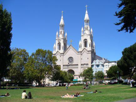 Kirche St.Peter and Paul San Francisco