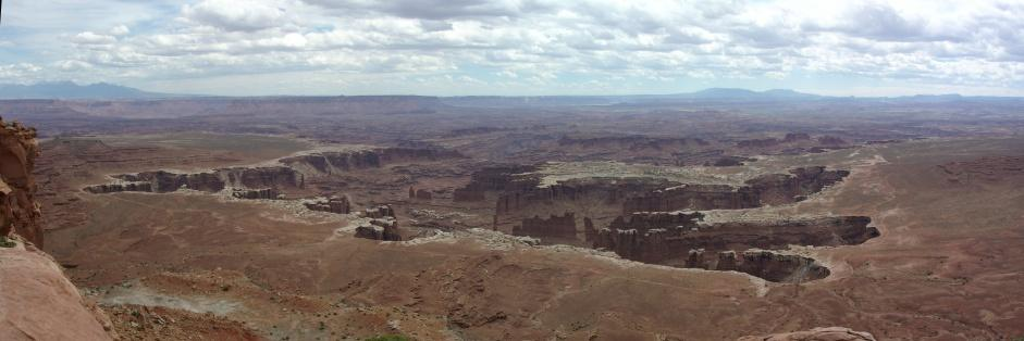 Panorama Grand View Point Canyonlands NP