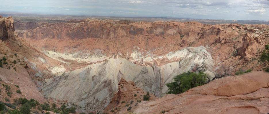 Panorama Upheavel Dome Canyonlands NP