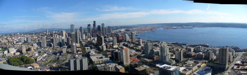 Panorama von der Space Needle