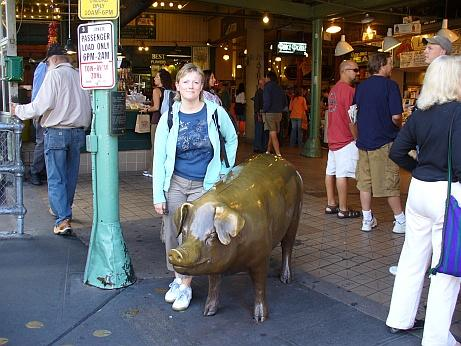 Pigs on Parade Seattle