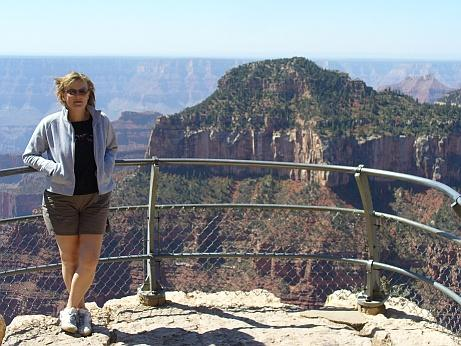 Rossi am Grand Canyon