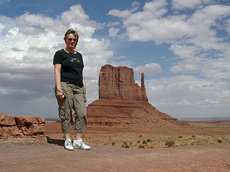Rossi im Monument Valley