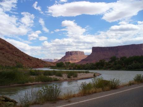 SR 128 in Moab