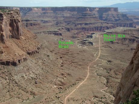 Shafer Trail Moab