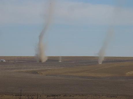 Mini Tornado in den USA